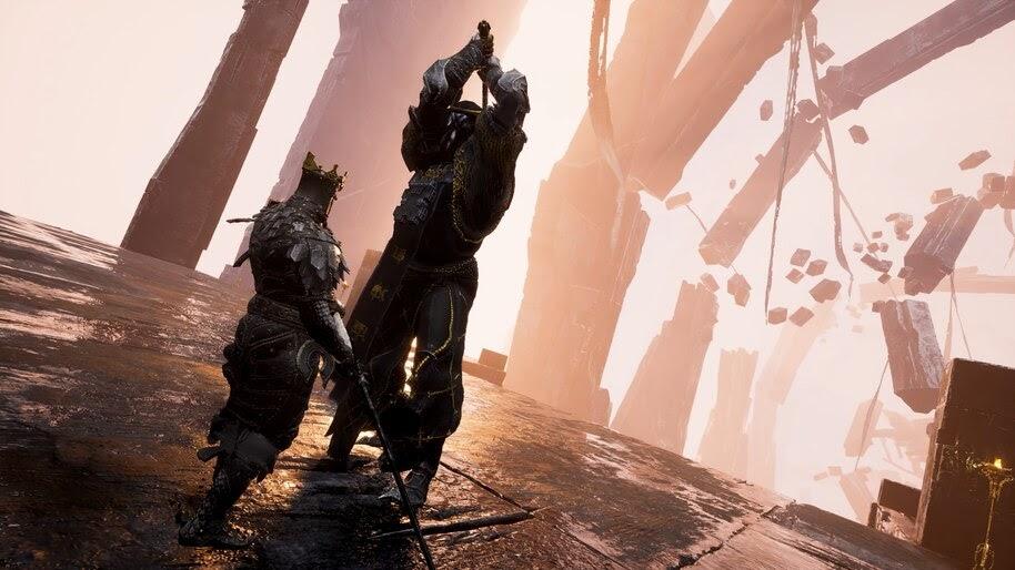 Mortal Shell, Game, Battle, Knight, 4K, #7.1654