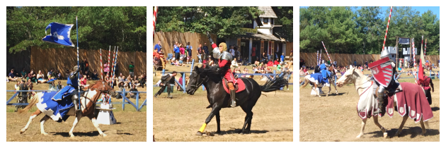 Jousting Challenge at Tournament Arena at King Richard's Faire Carver MA_New England Fall Events