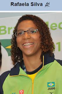 Rafaela Silva, medalha de ouro na Rio 2016 no Judô