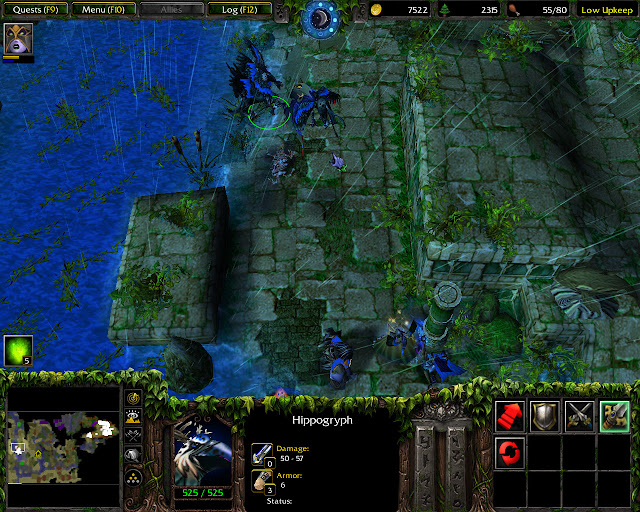Wrath of the Betrayer Mission 4 | Hippogryph Screenshot | Warcraft 3: The Frozen Throne