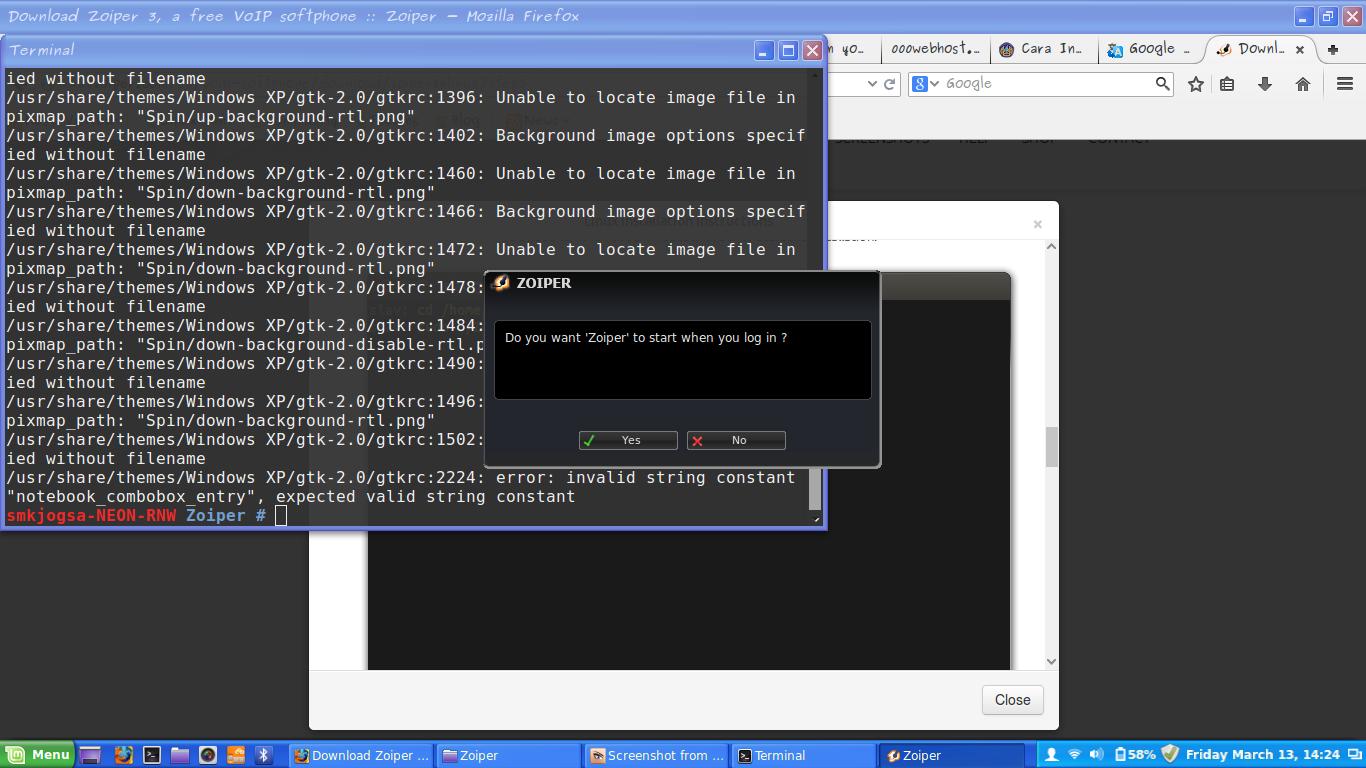 Install Zoiper Di Linux ~ Berbagi Sedikit ILmu