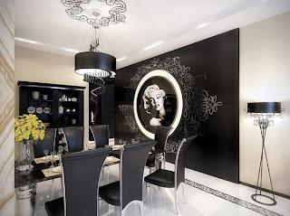 Diseño y decoración de interiores.