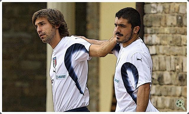 Pirlo Gattuso Italy