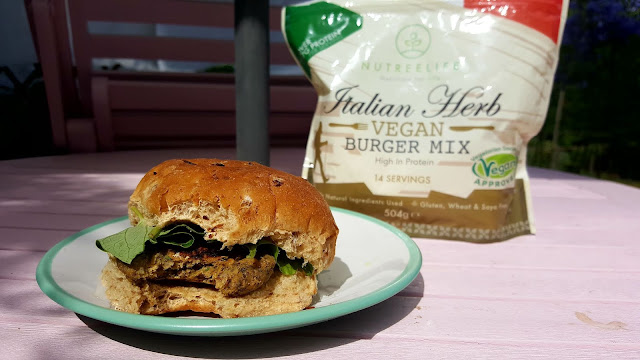 Italian Herb Vegan Burger Mix - Nutree Life*