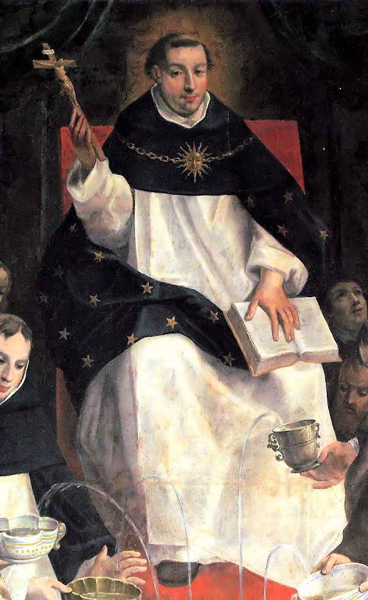 Santo Tomás de Aquino, quadro na catedral Notre Dame de Paris