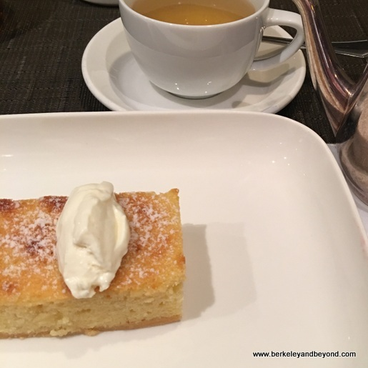 dessert aboard Holland America Line's Nieuw Amsterdam