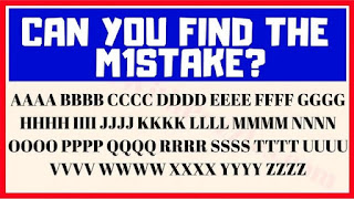 Can you find the M1stake? 1 2 3 4 5 6 7 8 9 10