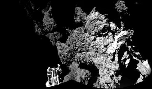 The surface image of Comet 67P