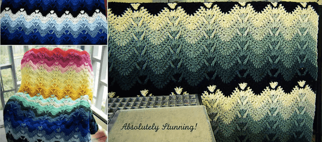 Mountain Mist Afghan -Free Patterns