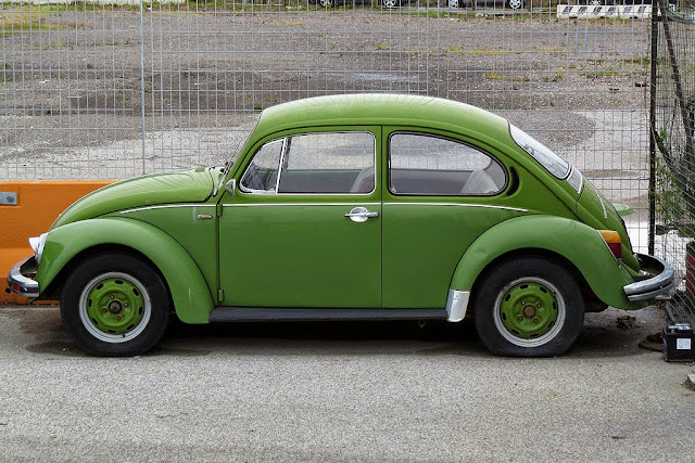 Volkswagen Beetle, port of Livorno