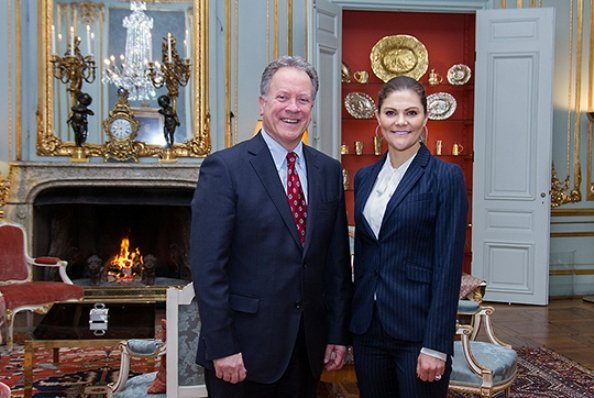 Princess Victoria wore Gant Blazer and Trousers