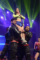 Sunny Leone Dancing on stage At Rogue Movie Audio Music Launch ~  001.JPG