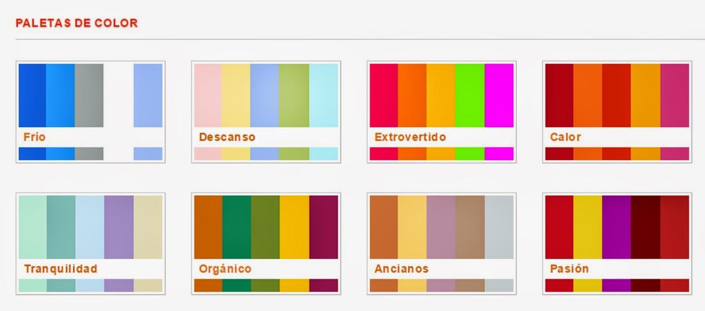 4 tips para optimizar el uso de color en desarrollo - Paleta de colores valentine ...