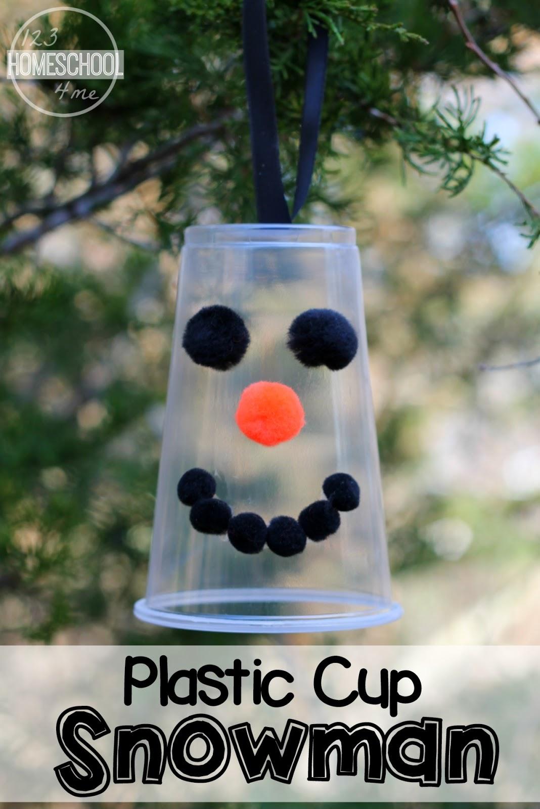 Snowman Homemade Ornament