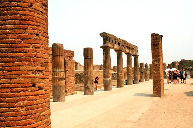 Pompei città distrutta