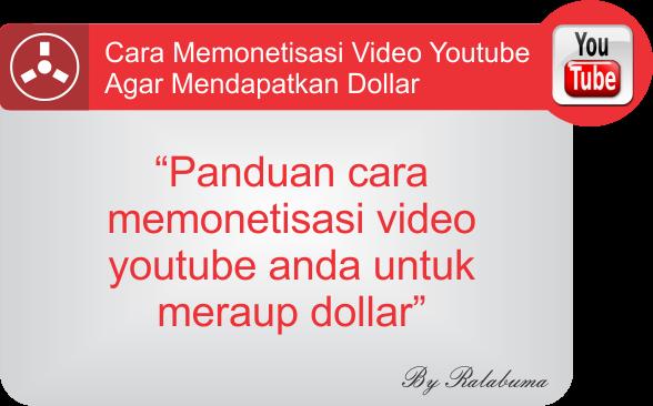 Cara Mendapatkan Dollar Dengan Video Youtube