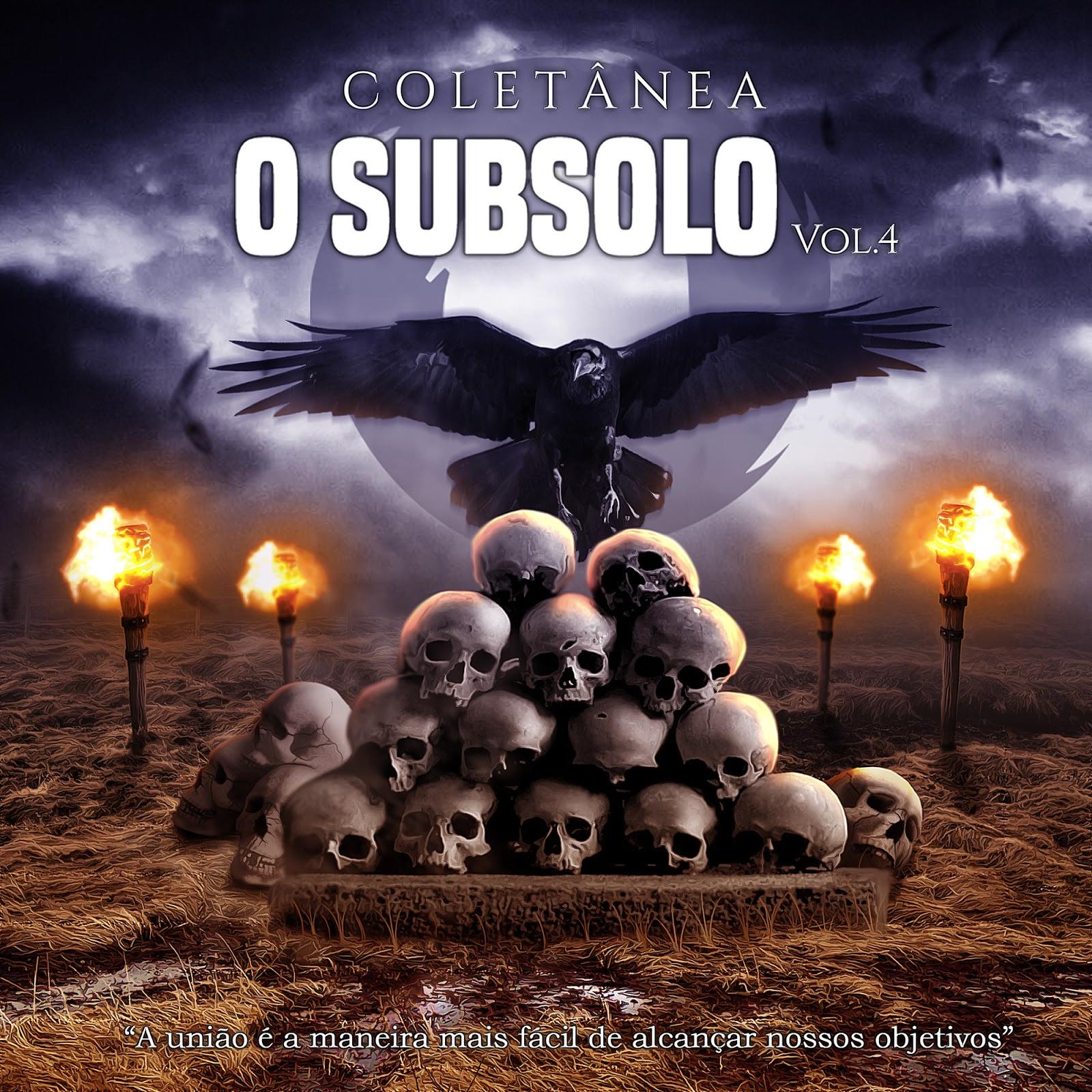 """Resultado de imagem para Coletânea O Subsolo – """"Vol.4"""""""