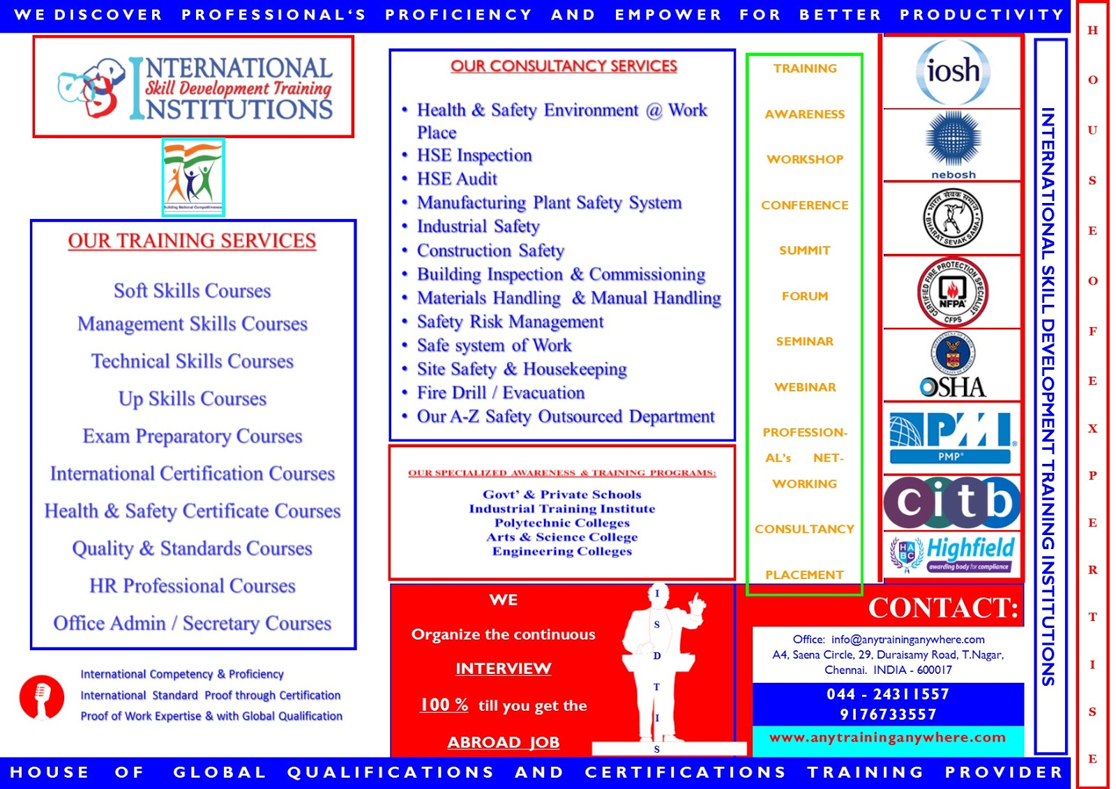 Training skills development international certification courses 5 iso quality standard courses 6 risk management courses 7 employment oriented courses 8 up skills courses xflitez Image collections
