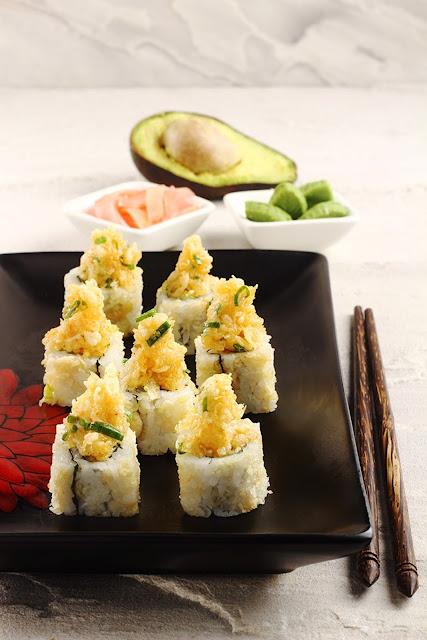 Crispy Spicy Avocado Maki
