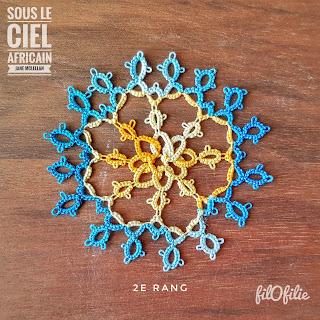 Sous le Ciel Africain de Jane McLellan / rang 1 et 2