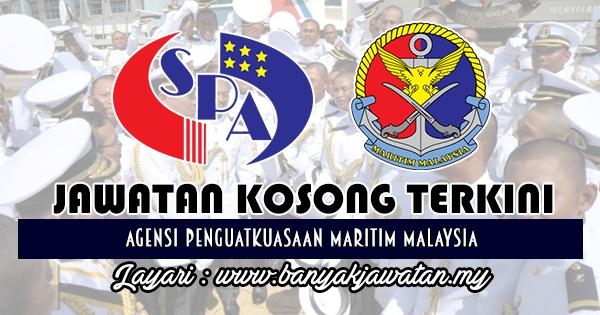 Jawatan Kosong Kerajaan 2018 di Agensi Penguatkuasaan Maritim Malaysia