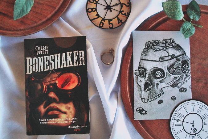 Boneshaker+cherrie+priest+ciencia+ficcion+steampunk