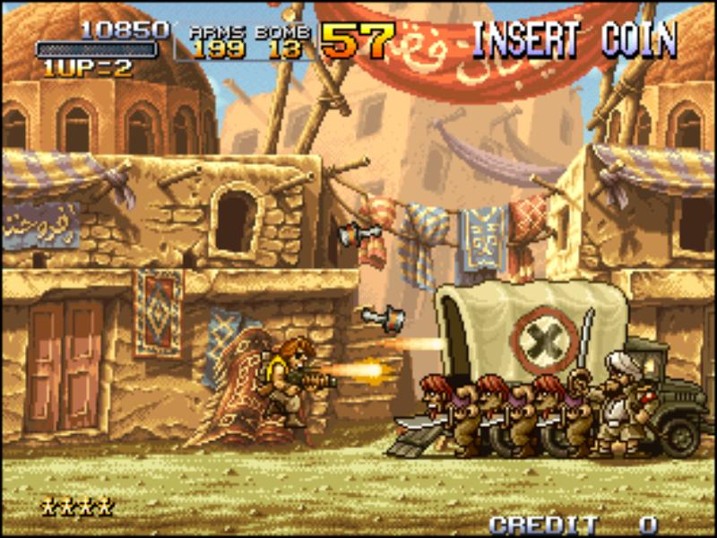 Resultado de imagen para metal slug 2 capturas