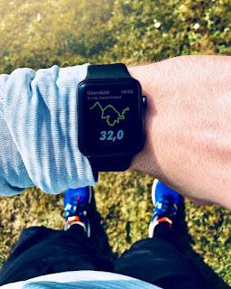 Apple Watch Series 3 Running Laufen Correr
