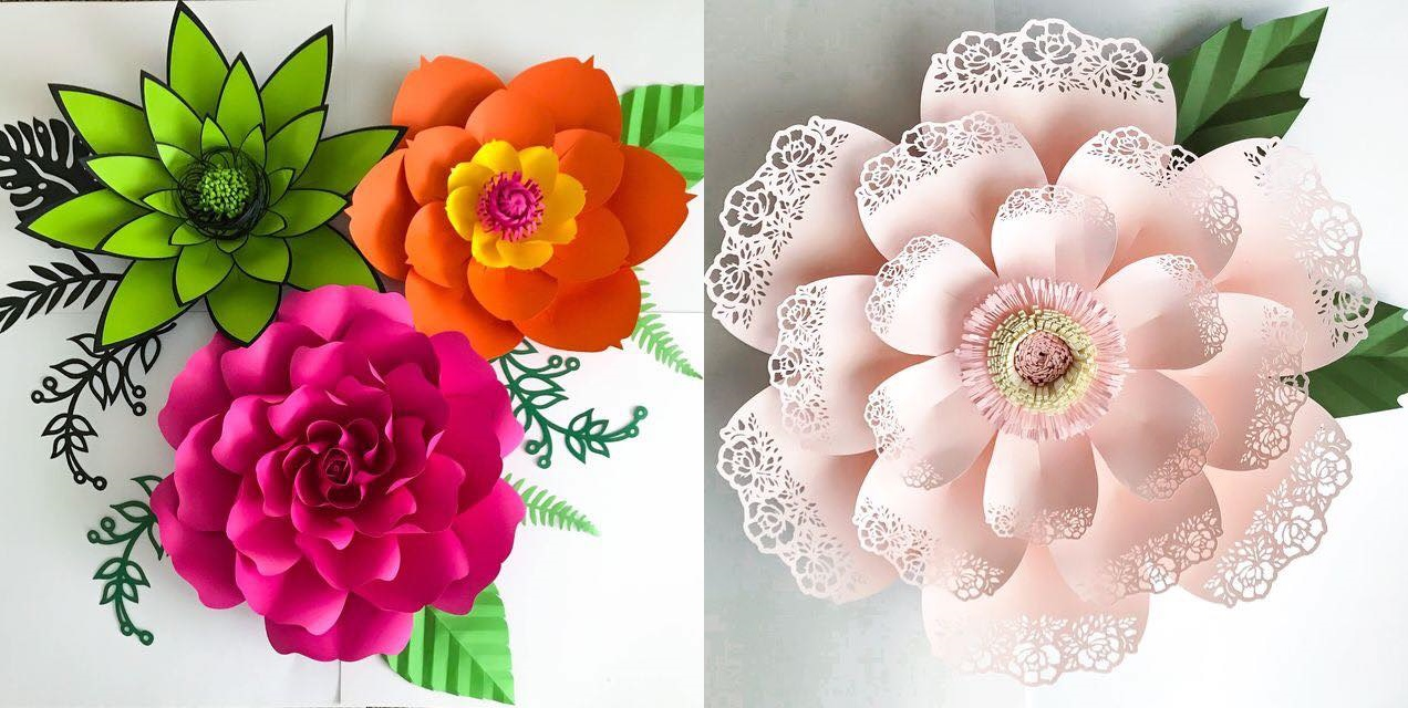Como Fazer Flores De Papel Como Fazer