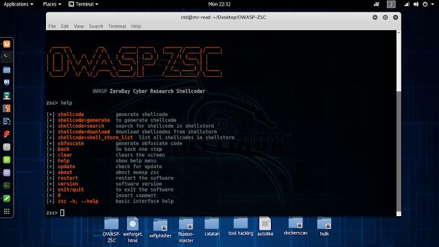 trik mendapatkan shellcode internasional di tool ZSC