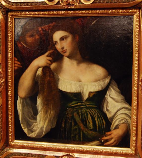 Titien, jeune femme à sa toilette