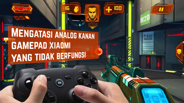 Analog kanan Xiaomi gamepad