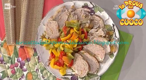 Pollo ripieno con peperoni ricetta Spisni da Prova del Cuoco