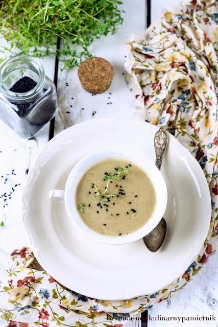 seler, zupa, zupa krem, krem, obiad, bernika, kulinarny pamietnik, czekolada