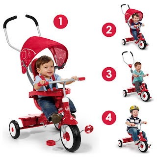 radio flyer 4-in-1 trike