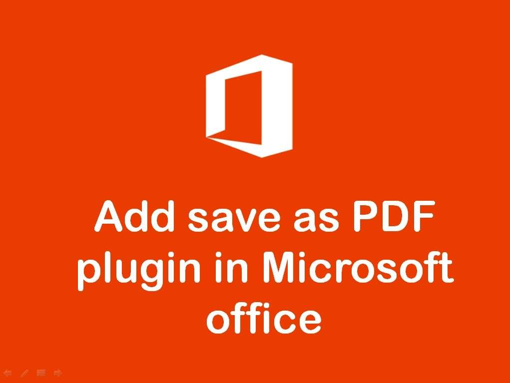 Save As Pdf For Microsoft Office 2007
