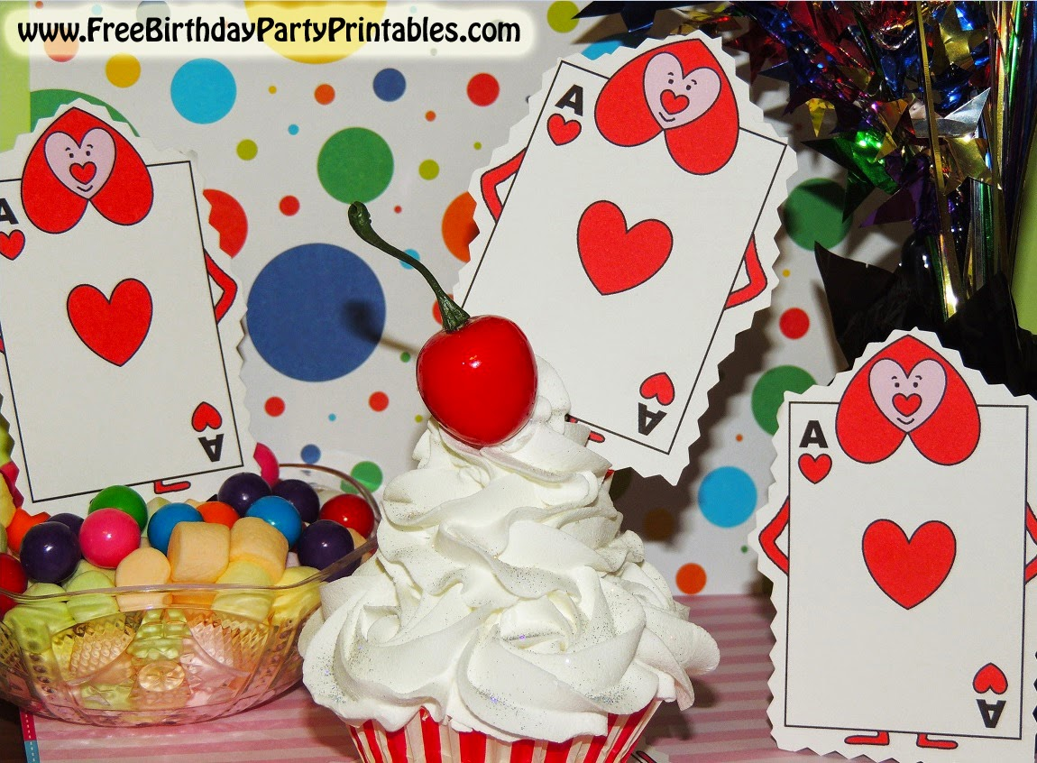 Alice In Wonderland Birthday Party Ideas Cupcake Toppers Decorations