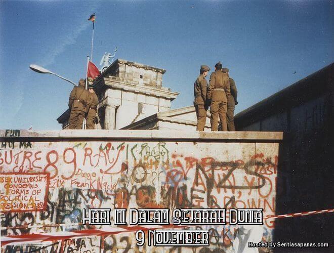 Peristiwa Penting Hari Ini Dalam Sejarah Dunia (9 November)