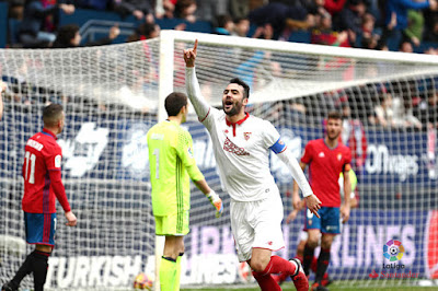 Crónica Osasuna 3 - Sevilla FC 4