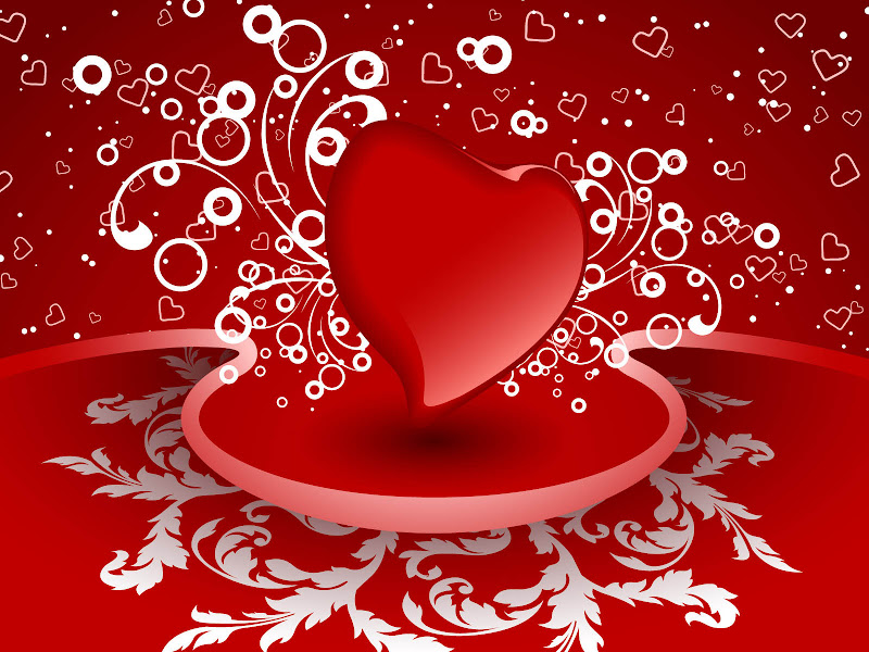 love you Picture of Hearts for Valentines day 2014 title=