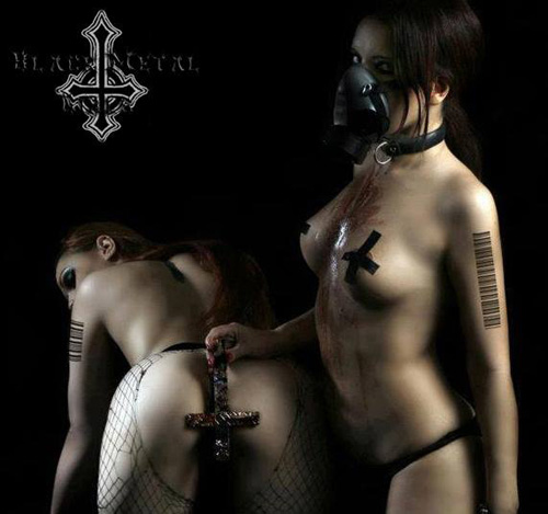 Black metalhead women nude Black Metal Girl Pussy Nude Photos