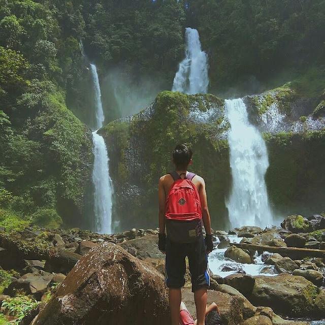 Curug Sembilan Waterfall