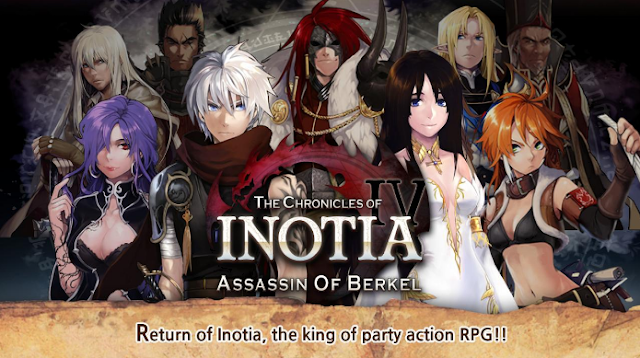 Download Inotia 4 v1.2.5 Mod Apk Terbaru (Unlimited Money/Skill/High Damage)