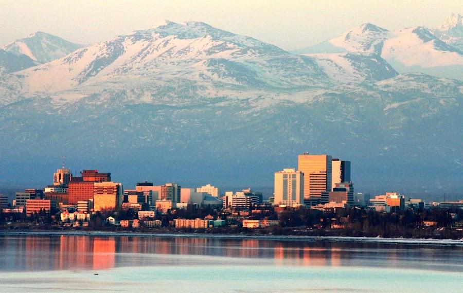 Anchorage, mejor lugar de Alaska