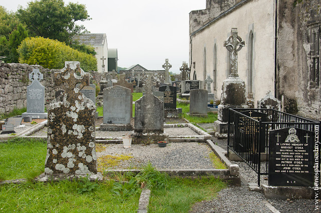 Cementerio Kilfenora Irlanda Condado CLare