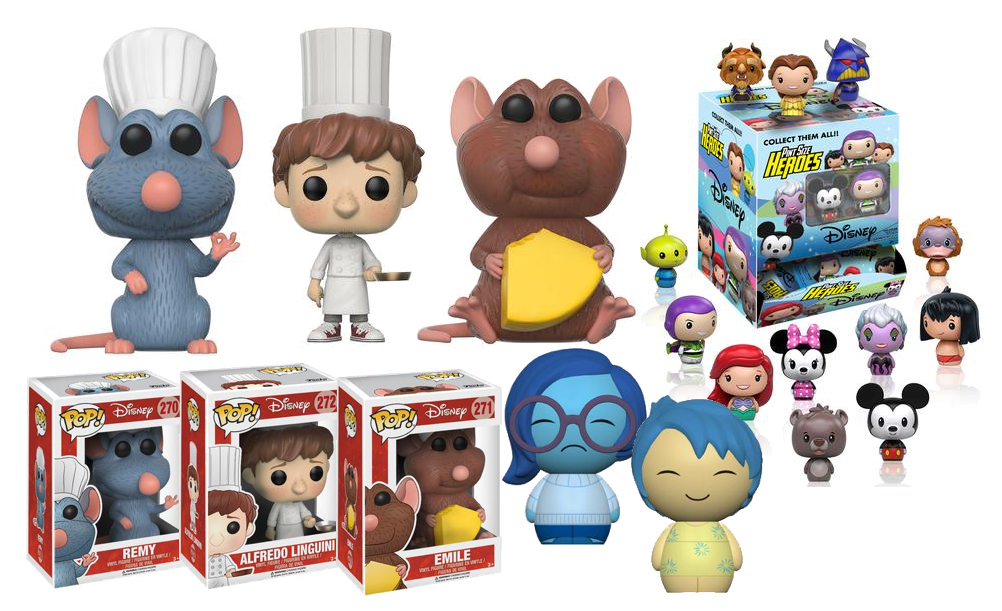 Ratatouille Funko Pop Vinyl Figures Amp More Pixar Funko