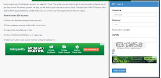 cara buat akun SSH free Di Cloud