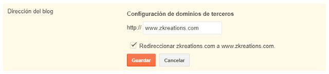 redireccionar sin www a www