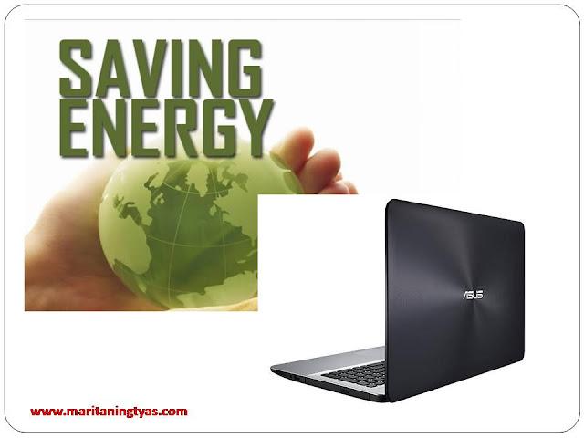 ASUS X555QA Hemat Energi