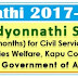 AP  NTR Vidyonnathi Screening Test Hall Tickets2017 Download@apcivilscoaching.aponline.gov.in